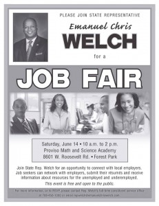 chris job fair